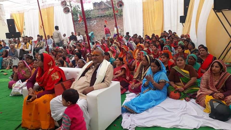 -नगर पंचायत अकबरपुर की अध्यक्ष महोदया श्रीमती ज्योतिष्ना कटियार ने हाल ही में ग्राम कोरवा खुर्द में
