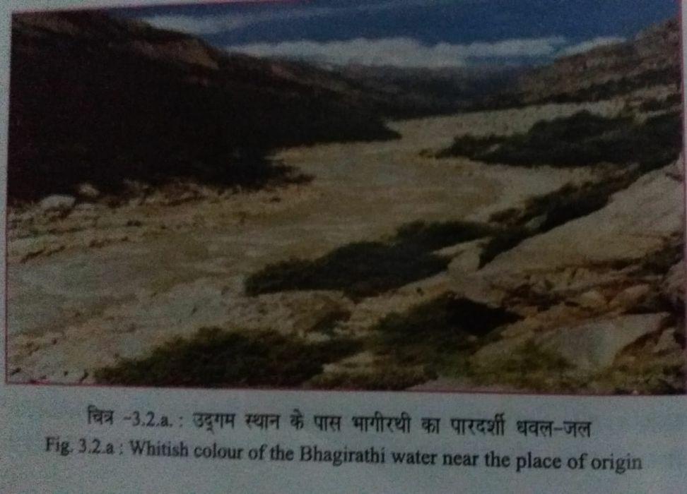 -बरसात के बाद गंगा का जल-स्तर, मिट्टी का आयतन, ऑक्सीजन की मात्रा, ऊर्जा तथा शरीर का आकार घटने लगता ह