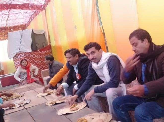 -मकर संक्रांति के पावन पर्व पर कल्यानपुर विधानसभा में आने वाले विकास नगर ख्योरा के अंतर्गत आवास विका