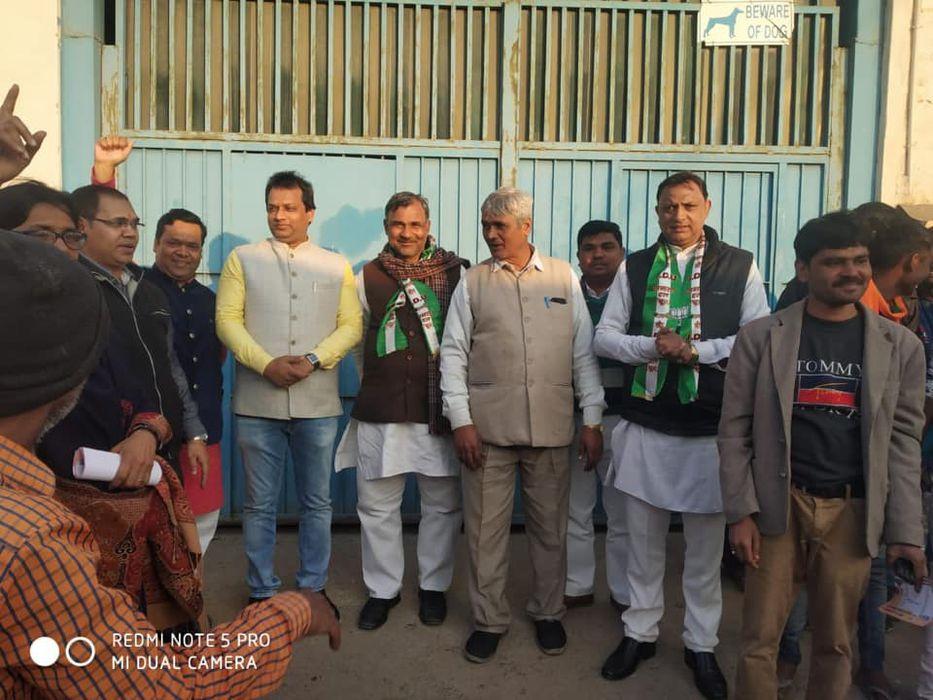 -आगमी दिल्ली विधानसभा चुनावों के मद्देनजर बुराड़ी में एनडीए के जदयू प्रत्याशी शैलेन्द्र कुमार के चुना