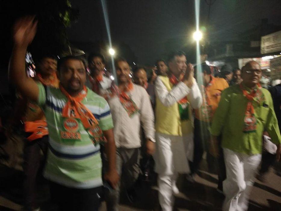 -गोविंद नगर विधानसभा में चुनावों को तेजी देते हुए भारतीय जनता पार्टी ने अपने जनसंपर्क अभियान में मान