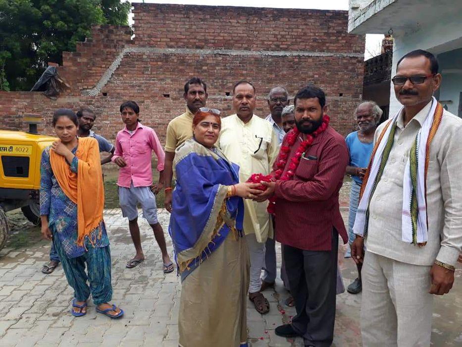-भारतीय जनता पार्टी कार्यालय, कानपुर देहात से सेक्टर चुनाव अधिकारी के रूप में नियुक्त नगर पंचायत अकब
