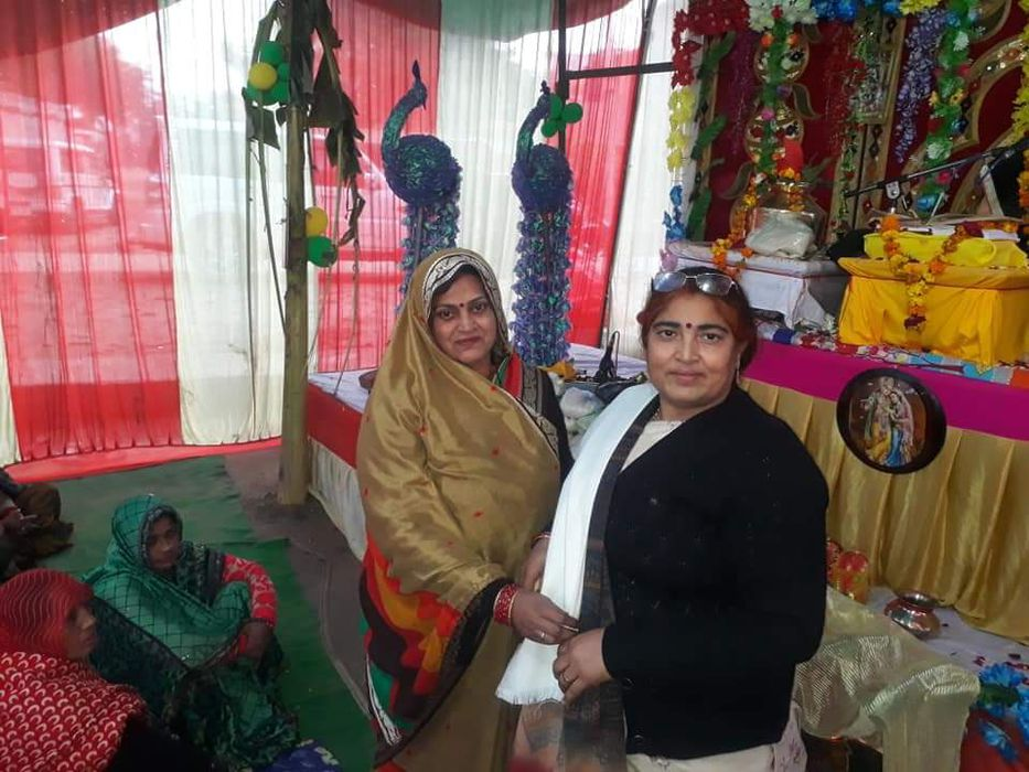 -नगर पंचायत अकबरपुर स्थित राधा कृष्ण दरबार, बहबलपुर में श्री शिव नाथ सिंह यादव जी द्वारा पांचवा विष्