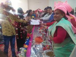 सीएम सामूहिक विवाह सम्मेलन में दिया गया 73 जोड़ों को आशीर्वाद