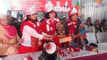 ज्योतिष्ना कटियार – अकबरपुर कानपुर देहात, नगर पंचायत के संचालन में जन भोजनालय का शुभारंभ
