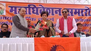 शिवपाल सावरिया - राजाजीपुरम परिक्षेत्र में आयोजित विभिन्न कार्यक्रमों में की शिरकत