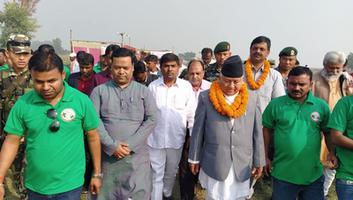 अमल कुमार - कमला वाचाओ अभियान धनुषा नेपाल में अतिथि के रूप में हुए शामिल