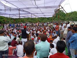 कन्नौज में प्रदेशव्यापी विशाल धरना प्रदर्शन में उमड़ा जन सैलाब