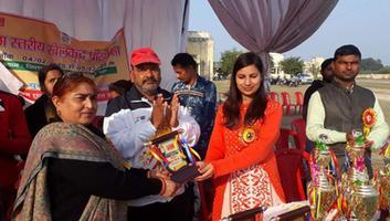 ज्योतिष्ना कटियार - कानपुर देहात में जिला स्तरीय खेल कूद प्रतियोगिता का आयोजन