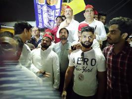 हुसैनाबाद में सपा राष्ट्रीय अध्यक्ष अखिलेश यादव जी की जनसभा