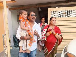 राजाजीपुरम परिक्षेत्र के ज्योति प्रसाद वार्ड में माननीय राजनाथ सिंह के लिए चुनाव प्रचार