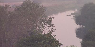 हिंडन नदी - दिखने लगा प्रयासों का असर, चमकने लगा हिंडन की सहायक कृष्णी नदी का तल