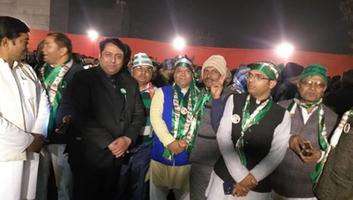 अमल कुमार - बुराड़ी विधानसभा में एनडीए प्रत्याशी के समर्थन में विशाल जनसभा का आयोजन