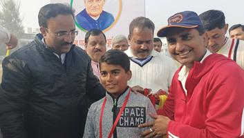 शिवपाल सावरिया - सद्भावना क्रिकेट मैच के अंतर्गत लखनऊ भाजपा पार्षद दल टीम ने हासिल की जीत