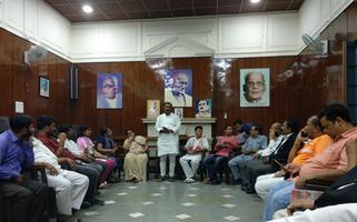 युवा जदयू दिल्ली – क्रांति दिवस के अवसर पर शहीदों को किया गया याद