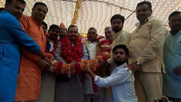 अकबरपुर में भाजपा की विजय संकल्प महासभा में उमड़ा विशाल जनसैलाब