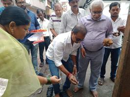 पंडित दीनदयाल उपाध्याय जन्मोत्सव पर राजाजीपुरम परिक्षेत्र में विकास कार्य का आरम्भ