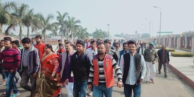 दलित-पिछड़ा वर्ग महासम्मेलन के अंतर्गत जनता को संबोधन