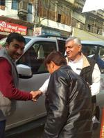भारतीय राष्ट्रीय कांग्रेस के 134वें स्थापना दिवस पर प्रदेश उपाध्यक्ष श्री विनोद चतुर्वेदी का स्वागत