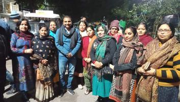 शिवपाल सावरिया - नागरिकता संशोधन कानून के समर्थन में किया प्रचार, गृहमंत्री की रैली के लिए भी जनता को दी जानकारी