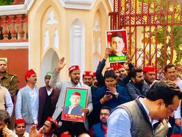 तानाशाही सरकार के खिलाफ पैदल मार्च एवं धरना प्रदर्शन