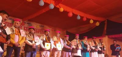 गोविंदपुरी एमसीडी पार्क में विद्यापति पर्व समारोह का आयोजन