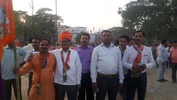 भाजपा उम्मीदवारों को विजयी बनाने के लिए हुयी जनसभा