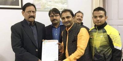 शिवपाल सावरिया – राजाजीपुरम स्थित मिनी इंडोर स्टेडियम की दुर्दशा को लेकर खेलकूद मंत्री से मुलाकात