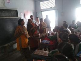प्रधानमंत्री नरेन्द्र मोदी के जन्मदिवस पर विद्यार्थियों को किया जागरूक