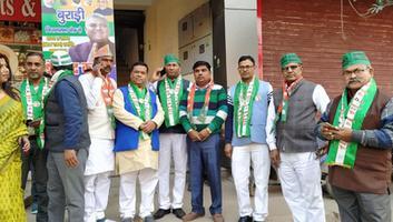 युवा जदयू दिल्ली - एनडीए कैंडीडेट के लिए बुराड़ी विधानसभा में विशाल जनसभा का आयोजन