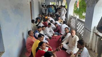 राजीव द्विवेदी – कानपुर कांग्रेस द्वारा मरियमपुर चौराहे पर किया गया नए मोटर एक्ट का विरोध