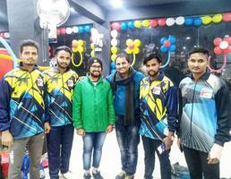 बालाजी महासभा के प्रमुख अधिकारियों से मुलाकात एवं जिम शुभारंभ कार्यक्रम में भागीदारी