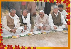 वर्ष 2002 चुनावों के उपरांत तहरी सहभोज कार्यक्रम