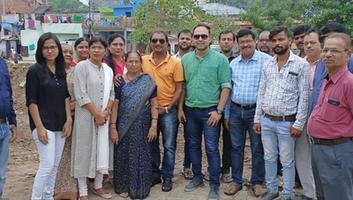 शिवपाल सावरिया – राजाजीपुरम परिक्षेत्र के आलमनगर स्टेशन के सामने प्रारंभ हुआ पार्क का निर्माण कार्य