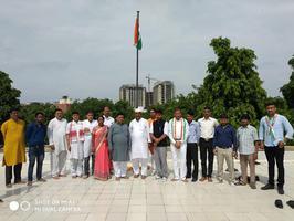 स्वतंत्रता दिवस के शुभ अवसर पर जदयू के राष्ट्रीय कार्यालय 7 जंतर मंतर पर किया गया ध्वजारोहण