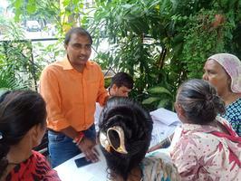 शिवपाल सावरिया - लखनऊ के राजाजीपुरम परिक्षेत्र में पेंशन शिविर का आयोजन, 150 लाभार्थियों ने लिया लाभ