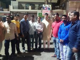 राजाजीपुरम परिक्षेत्र में बड़े भाई नीरज सिंह जी का हार्दिक स्वागत
