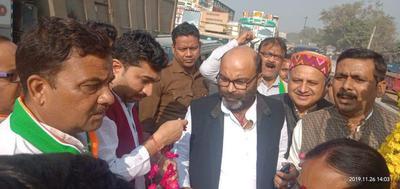 कानपुर पहुंचने पर कांग्रेस प्रदेश अध्यक्ष श्री अजय कुमार लल्लू का हुआ भव्य स्वागत