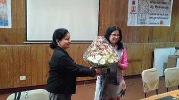 International Women's Day celebrations by Prithvi at Lucknow Cancer Institute, Jiamau, Lucknow