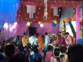 बिस्मिल पार्क में आयोजित राम कथा में श्री राम जी की बारात में शामिल होने का मिला अवसर