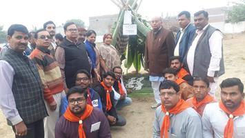भारत स्काउट एंड गाइड प्रशिक्षण शिविर समापन समारोह में की शिरकत
