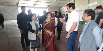 मेयर संयुक्ता भाटिया के साथ विभिन्न कार्यक्रमों में सहभागीदारी