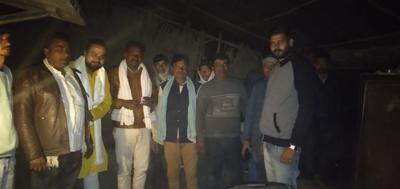 टीम राजीव द्विवेदी द्वारा रनिया विधानसभा में जन संपर्क अभियान