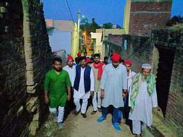 कन्नौज लोकसभा के विभिन्न ग्रामों में जनसंपर्क अभियान के जरिये सांसद डिंपल यादव के लिए वोट अपील