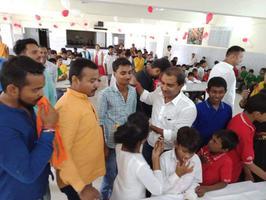 खास अंदाज में मनाया देश के प्रधानमंत्री नरेंद्र मोदी जी का जन्मोत्सव