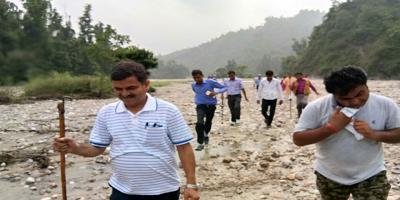 हिंडन नदी - निर्मल हिंडन यात्रा, शिवालिक रेंज - 18 सितम्बर- 20 सितम्बर, सहारनपुर