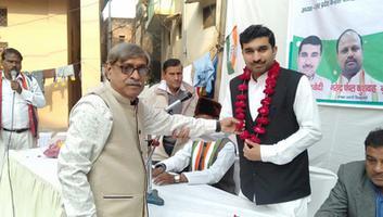 राजीव द्विवेदी - कल्यानपुर विधानसभा के खलासी लाइन वार्ड में आयोजित हुआ कार्यकर्ता समागम कार्यक्रम