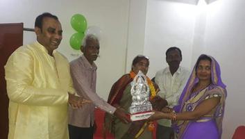 ज्योतिष्ना कटियार - अकबरपुर नगर पंचायत, घाटमपुर रोड गजनेर में शिवा पाली क्लिनिक का शुभारंभ
