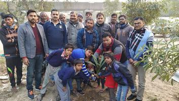 अमल कुमार - कोंडली विधानसभा के अंतर्गत पौधा लगाओ हरियाली लाओ कार्यक्रम का आयोजन