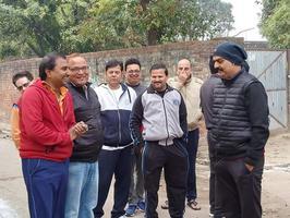 आलमनगर मोहान रोड के अंतर्गत सड़क निर्माण कार्य का शुभारंभ